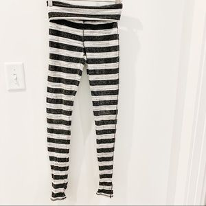 Free people leggings with foot stirrups